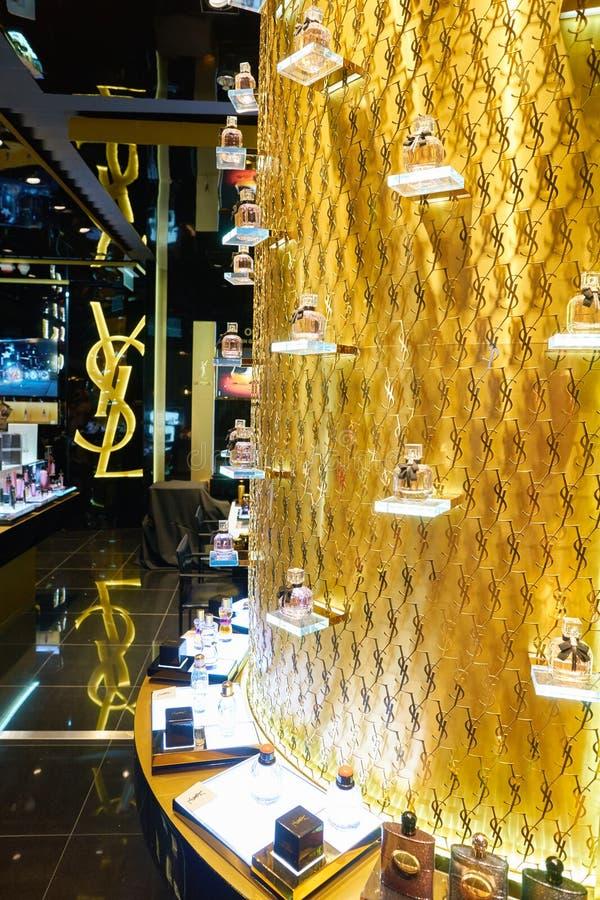 Yves Saint Laurent Store stock fotografie