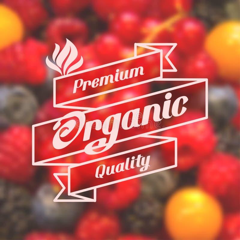 Żywność organiczna ilustracji