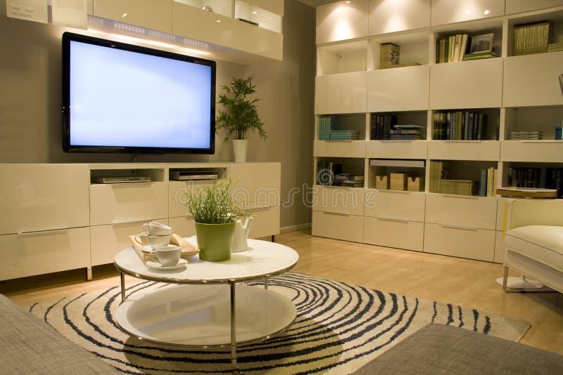 Żywy izbowy meblarski sklep obrazy royalty free