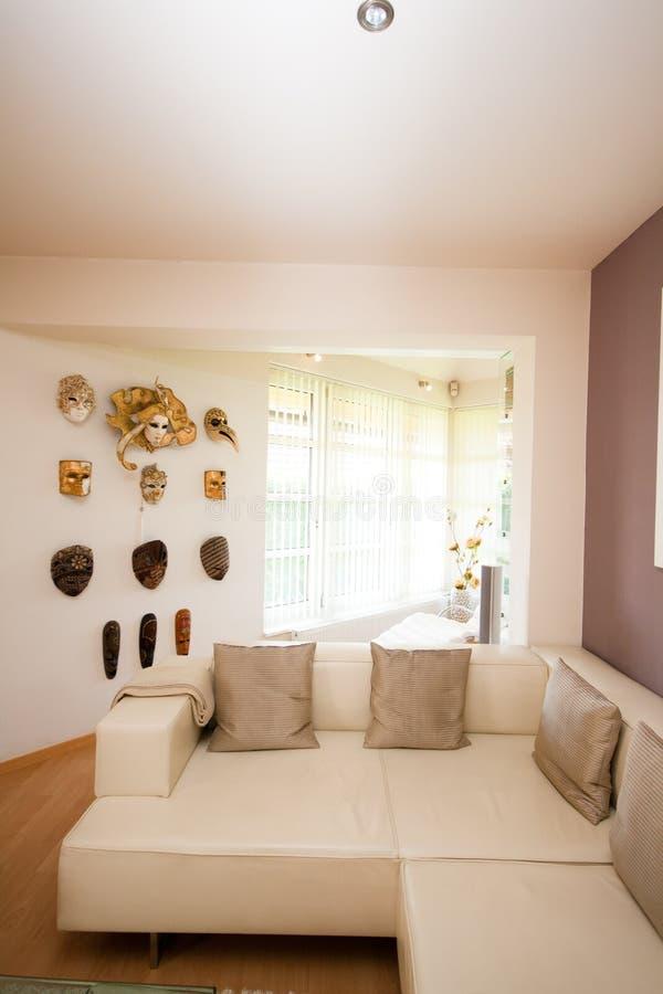 żywy Luksusowy Pokój Zdjęcie Royalty Free