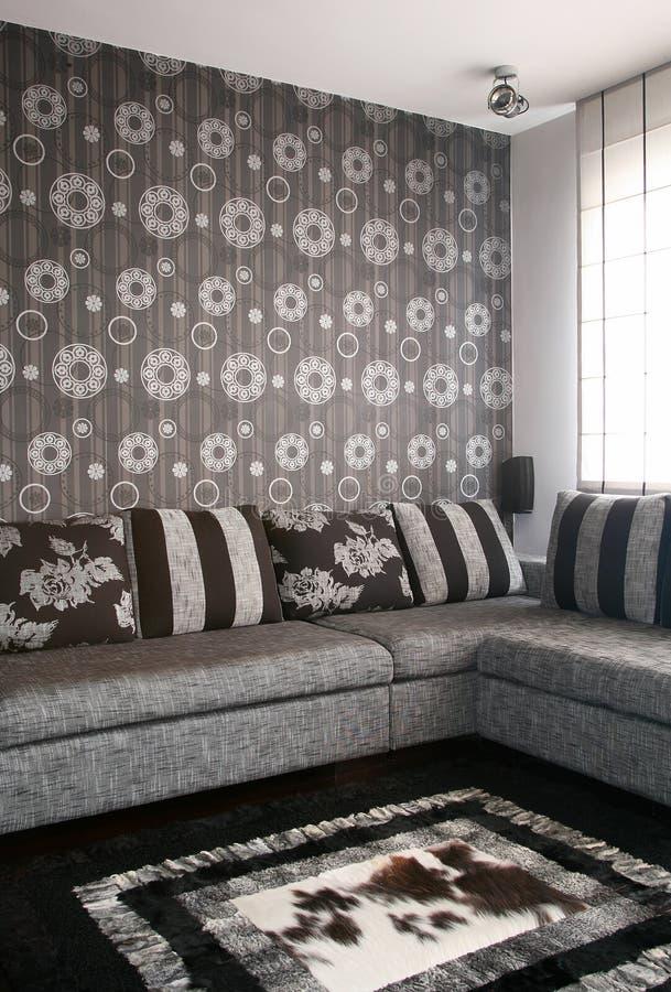 Download żywy pokój zdjęcie stock. Obraz złożonej z czerń, szczegółowy - 13343176