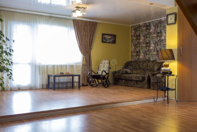Żywy pokój intymny dom fotografia royalty free