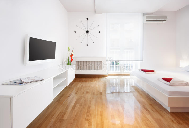 Żywy pokój lub hotelowy apartament zdjęcie royalty free