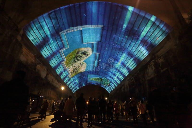 Żywy Sydney - życiowa historia przy Argyle obraz stock