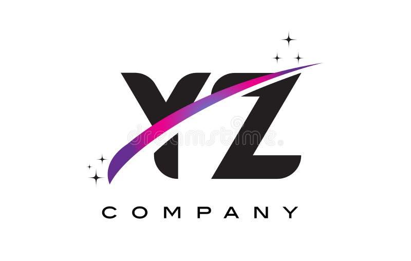 Yz y z black letter logo design with purple magenta swoosh stock download yz y z black letter logo design with purple magenta swoosh stock vector illustration of altavistaventures Image collections