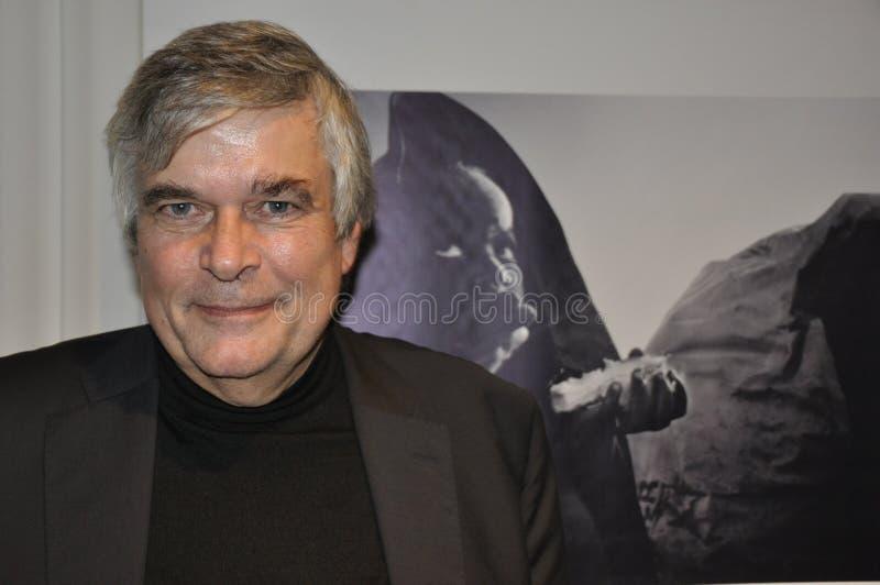 ZÃ ¼富有的城市:乌尔里克Tilgner,ZDF特派记者和战争 库存图片