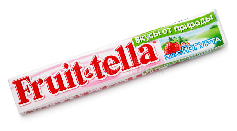 Zähe Bonbons Fruittella lizenzfreies stockbild