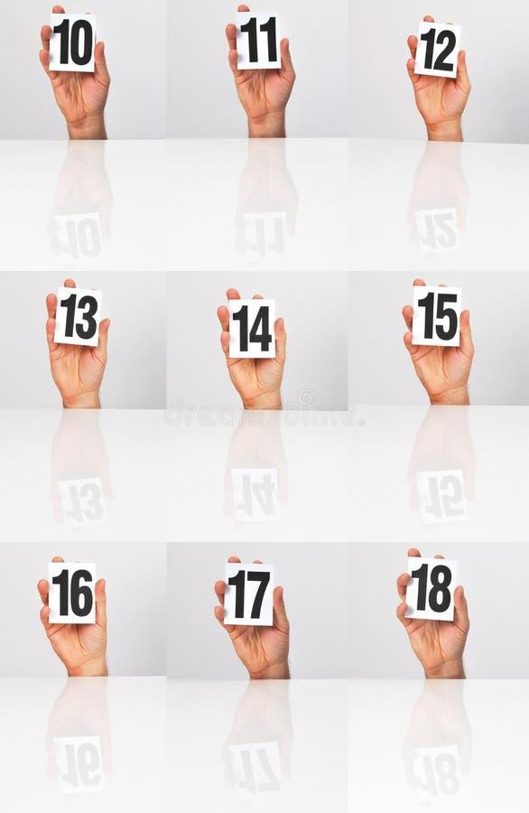Download Zählen stockbild. Bild von resultat, d0, reflexion, platte - 27725943