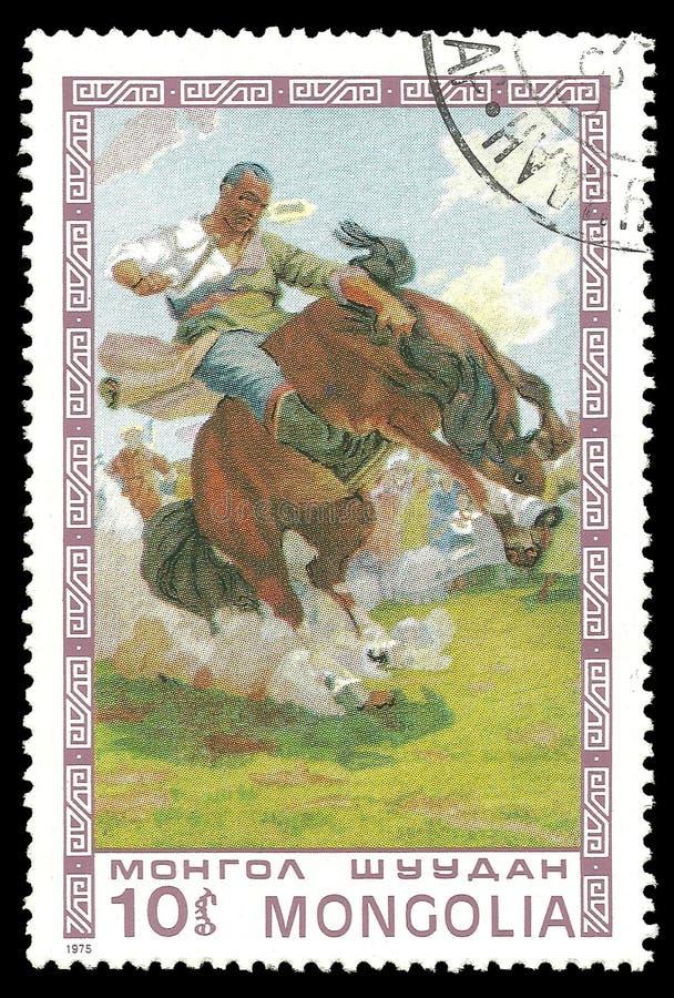 Zähmendes wildes Pferd lizenzfreie stockfotografie