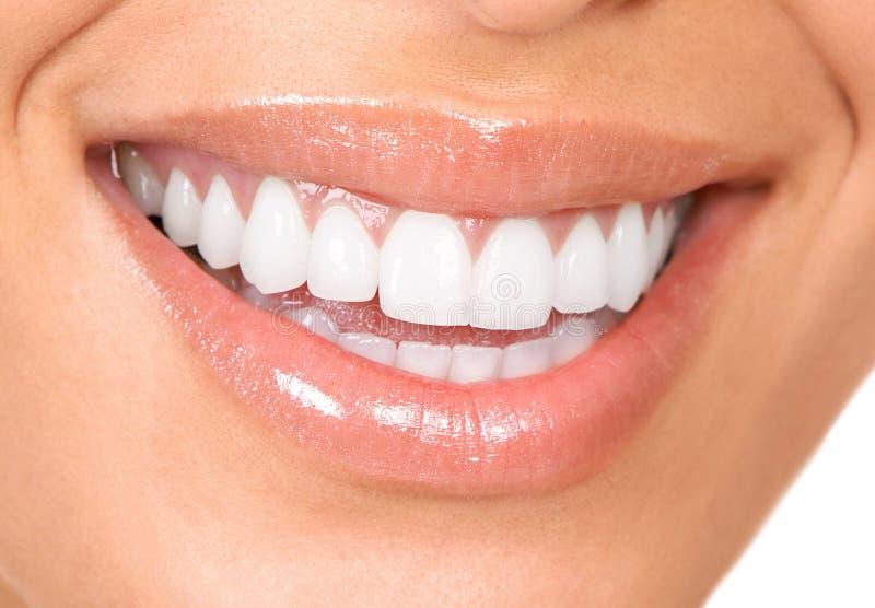 Zähne und Lächeln lizenzfreie stockbilder