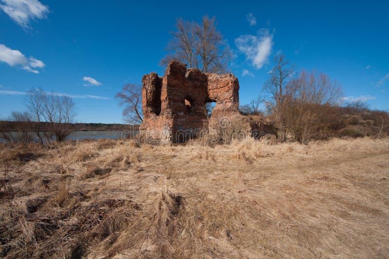 ZÅotoria slott arkivbild