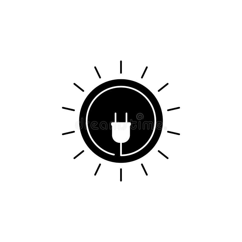 Zócalo, icono del círculo en el fondo blanco Puede ser utilizado para la web, logotipo, app móvil, UI UX stock de ilustración