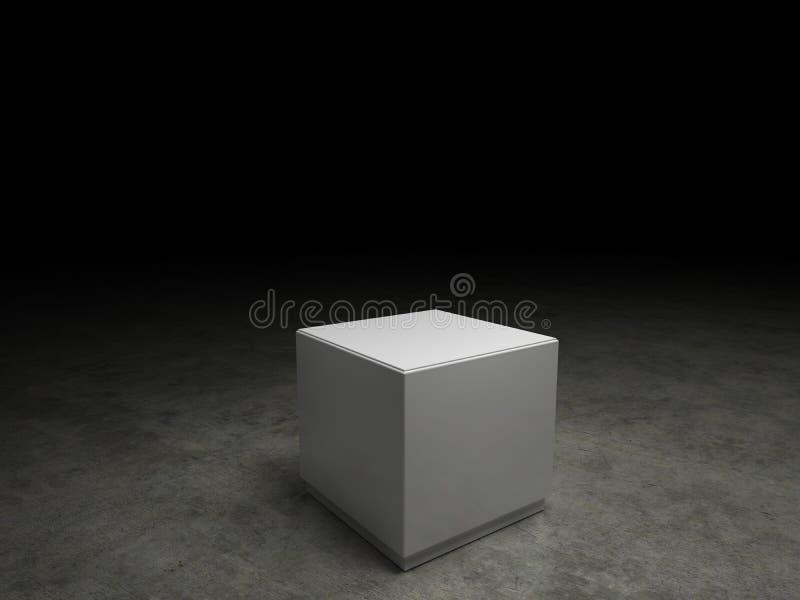 Zócalo vacío stock de ilustración