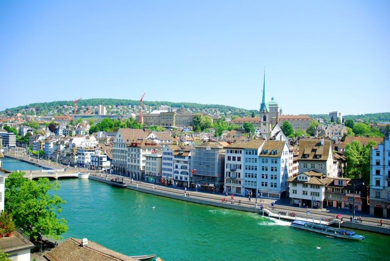 Zürich royalty-vrije stock foto