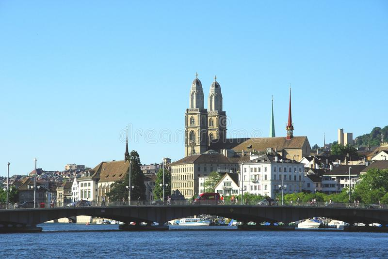 Zürich. Beautiful city of Zürich, Switzerland royalty free stock photography