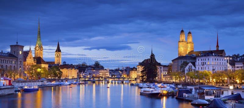 Zürich. royalty-vrije stock afbeeldingen