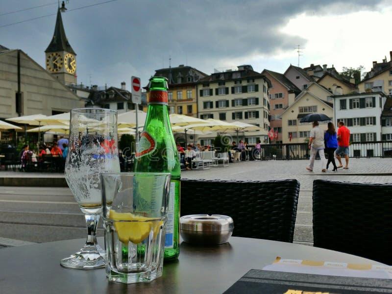 Zürich - die Schweiz stockbilder