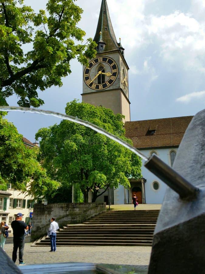 Zürich - die Schweiz lizenzfreies stockbild