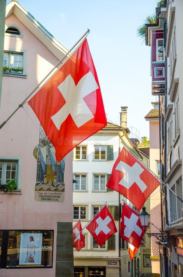 Zürich, die Schweiz lizenzfreies stockfoto