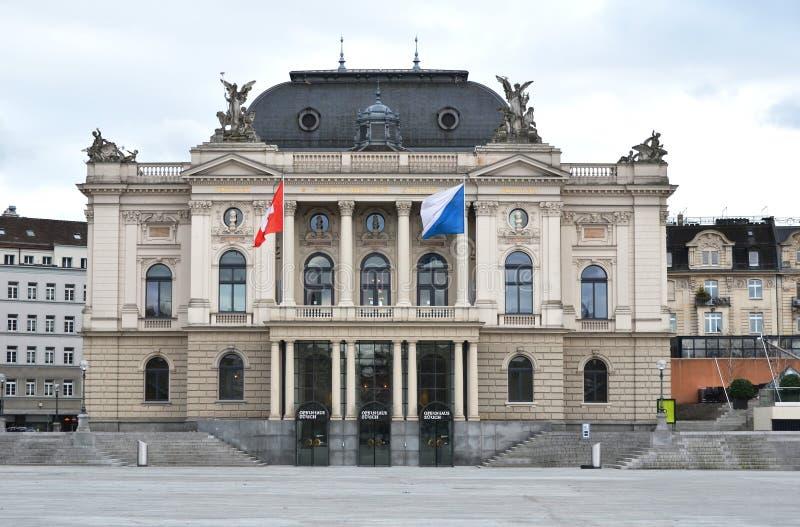 Zürich-Oper lizenzfreie stockfotografie