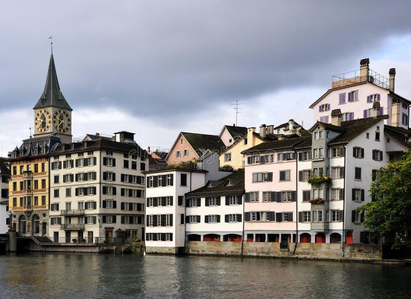 Zürich-Stadtbild lizenzfreies stockfoto