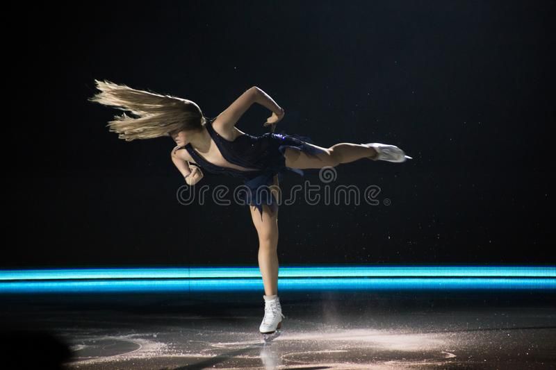 Download Art on Ice 2018 editorial image. Image of dancers, radionova - 111359015