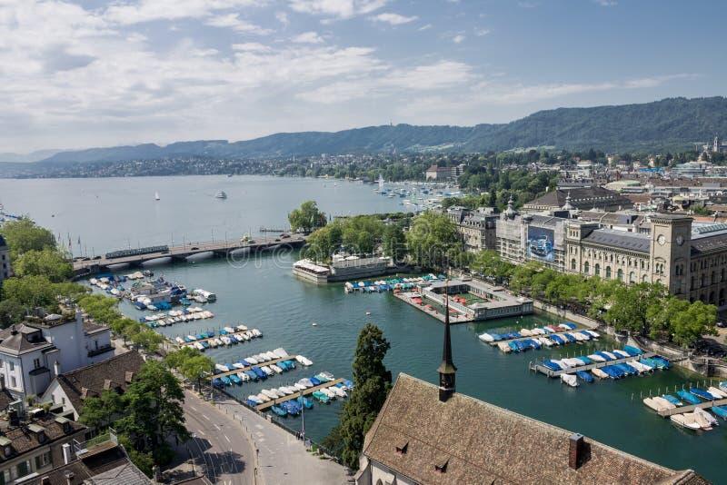 Zürich Zwitserland royalty-vrije stock afbeelding