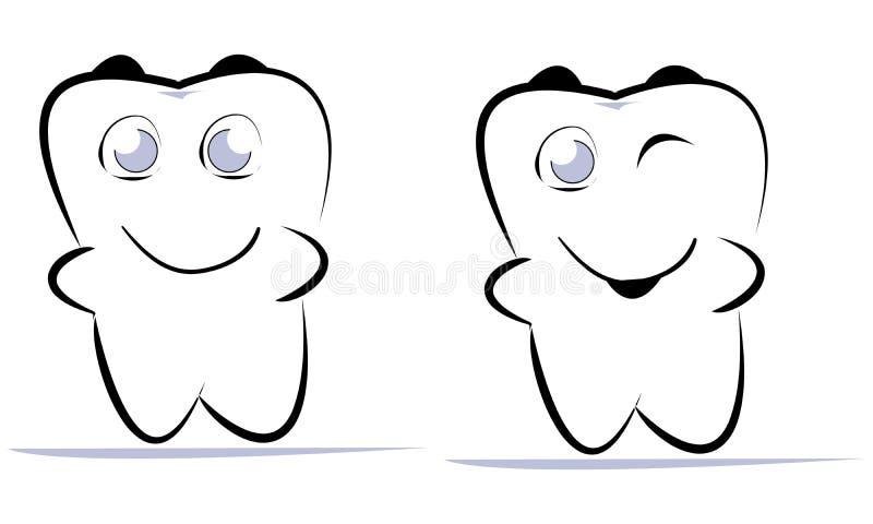 ząb ilustracja wektor