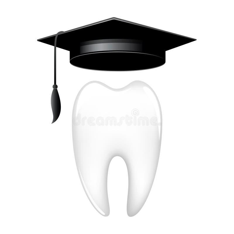 ząb mądry ilustracji
