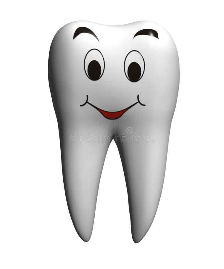 ząb uśmiechasz ilustracji