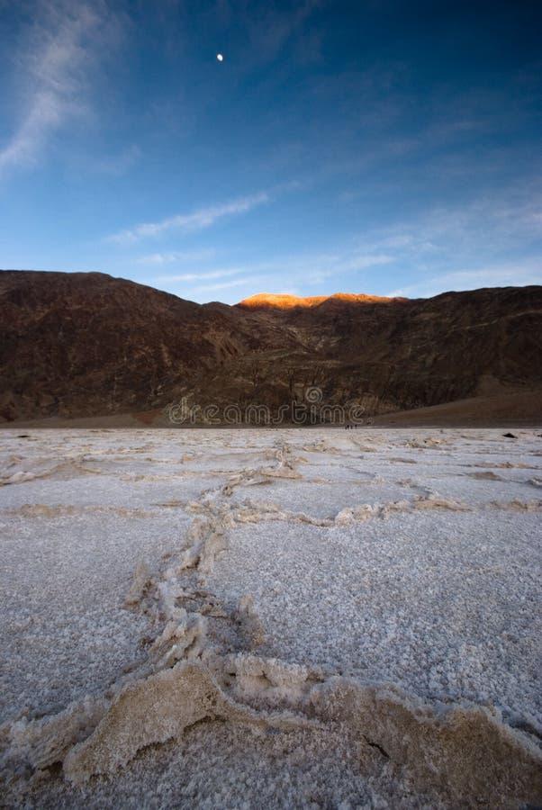 zła śmierć słońca doliny wody obraz stock