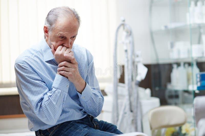 Zła choroba zdjęcie stock