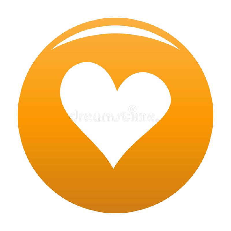 Zła kierowa ikony pomarańcze ilustracji