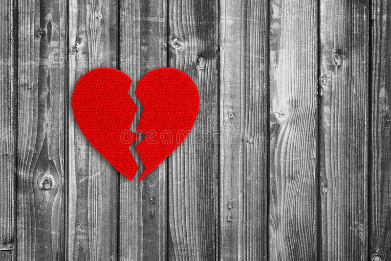 złamane serce zdjęcie stock