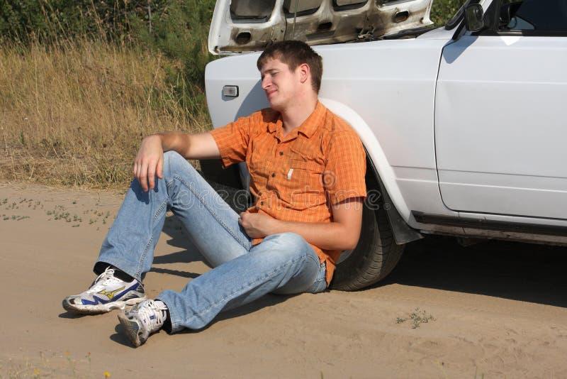 złamanie samochód fotografia royalty free