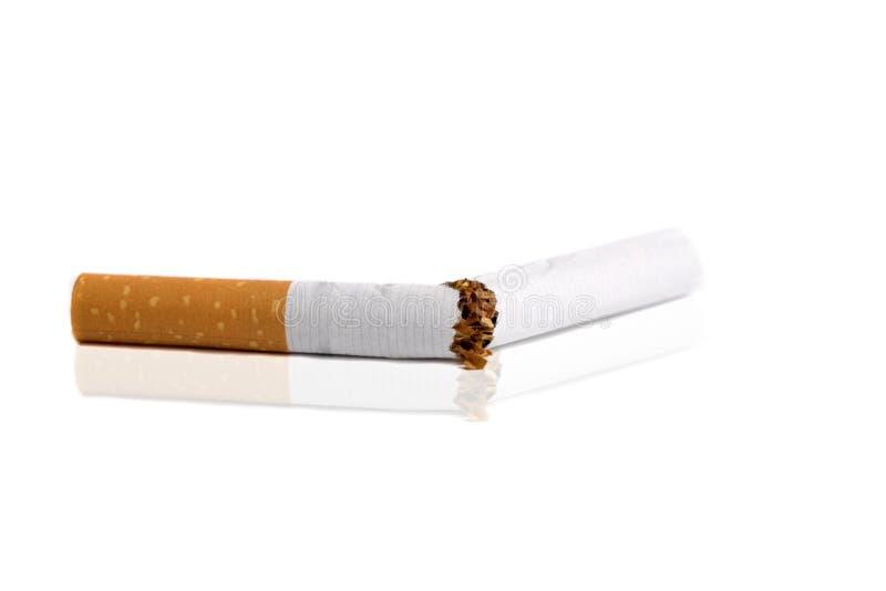 złamany papierosa zdjęcie royalty free