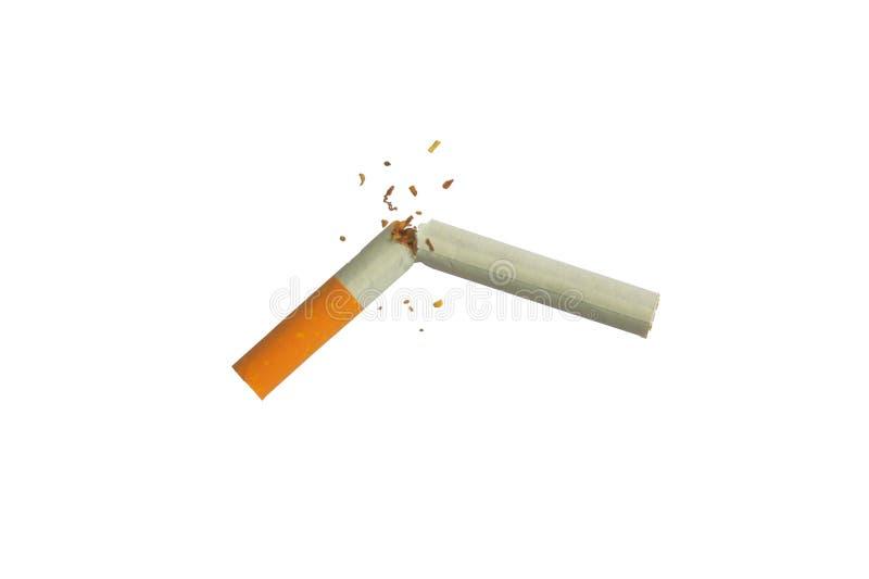 złamany papierosa obrazy royalty free