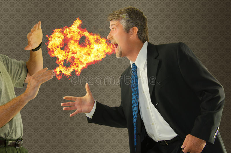 Złego oddechu halitosis chroniczny humor zdjęcie royalty free