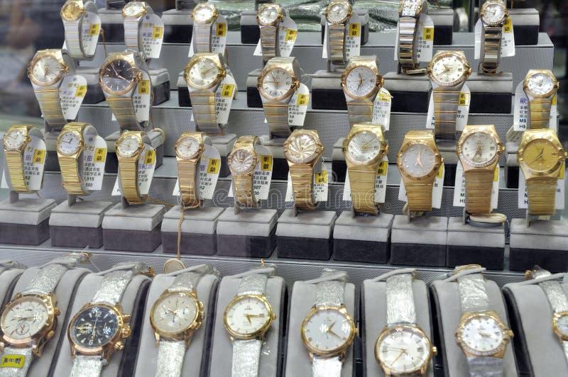 złociści zegarki obraz stock