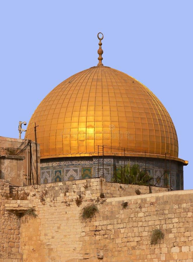 Złoci Dom w Jerozolima. zdjęcie royalty free