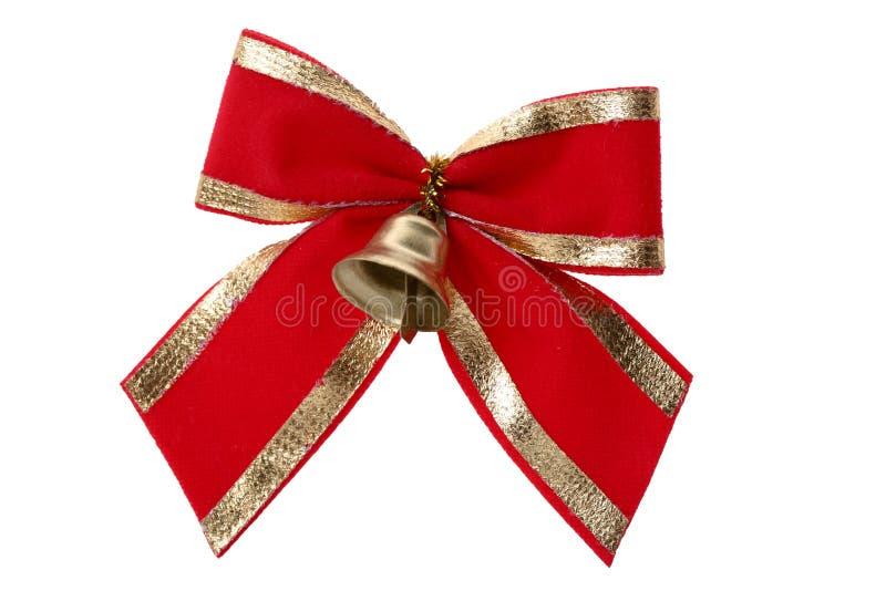 złoci dzwonkowi christmass fotografia stock