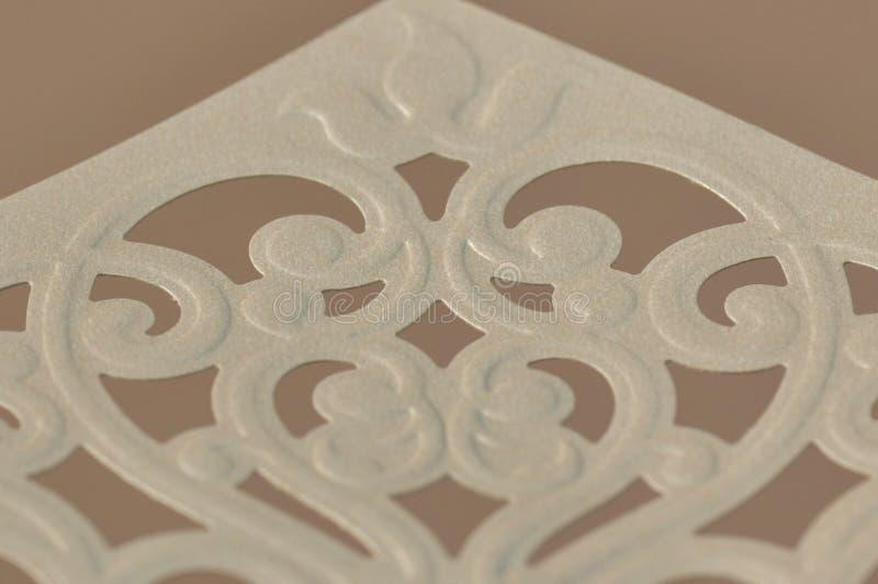 Złoci koperta ornamenty fotografia royalty free