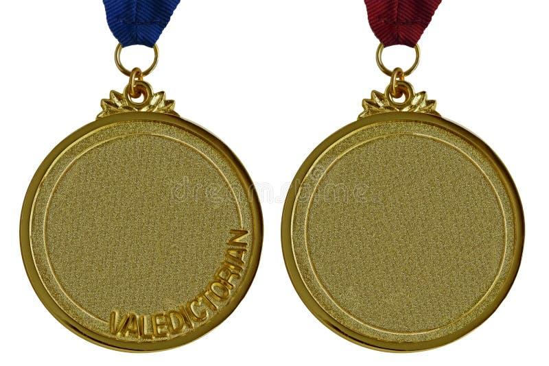 Złoci Medale zdjęcia royalty free