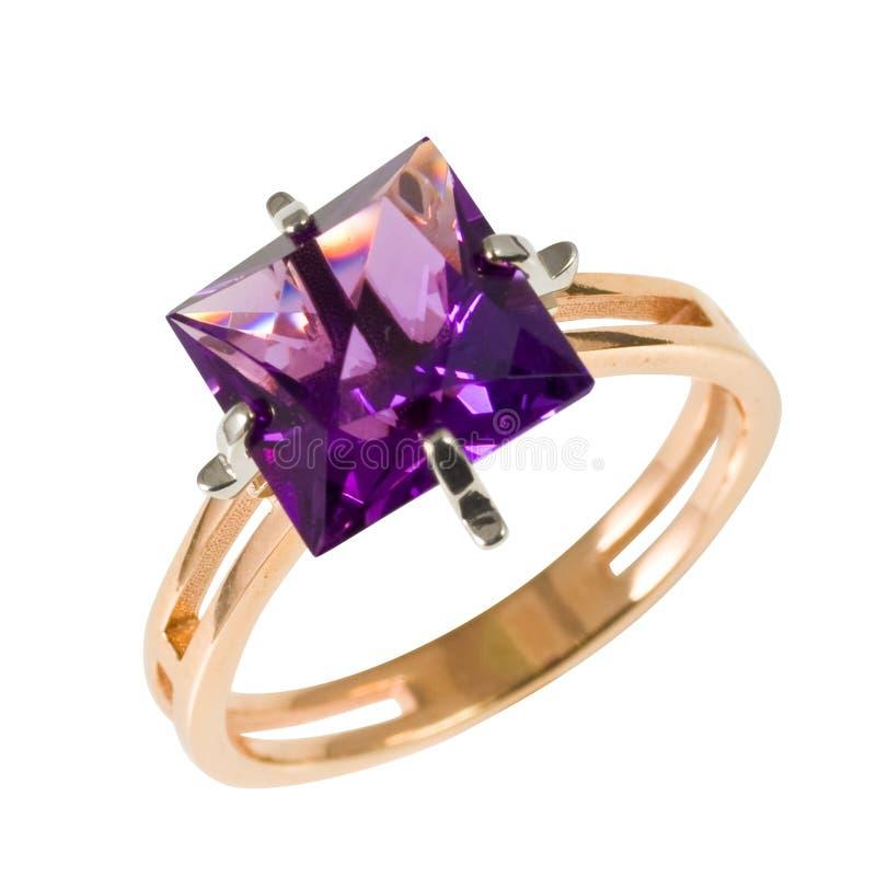 złoci ringowi kamienie zdjęcie stock