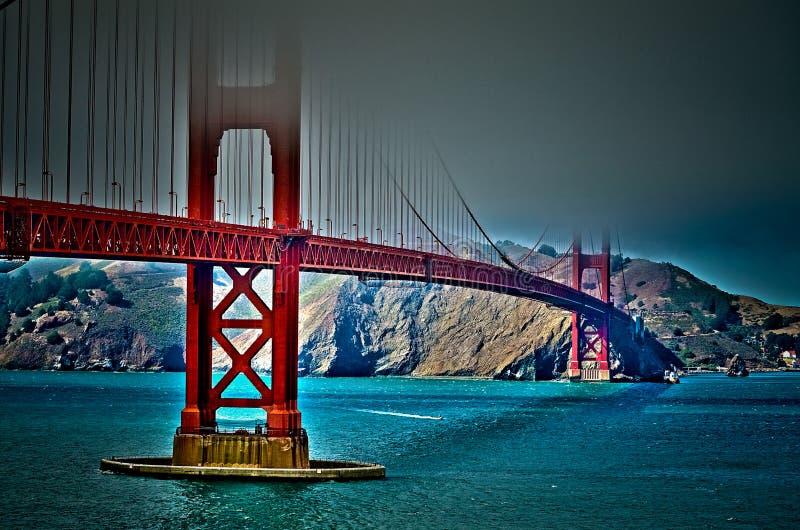 Złoci Wrota most zdjęcia royalty free