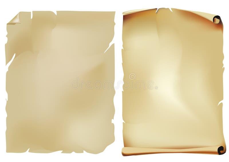 złocista rolka royalty ilustracja