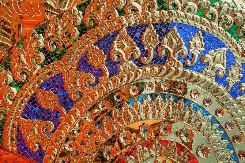 Złocistego abstrakcjonistycznego tła kolorowa tajemnica obraz royalty free