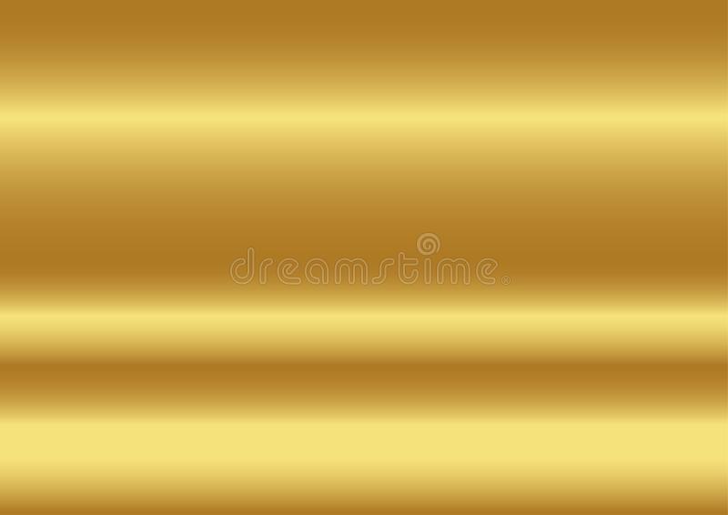 Złocistego koloru abstrakcjonistyczny tło, wektorowe ilustracje royalty ilustracja