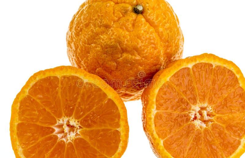 Złocistej bryłki mandaryn zdjęcia stock