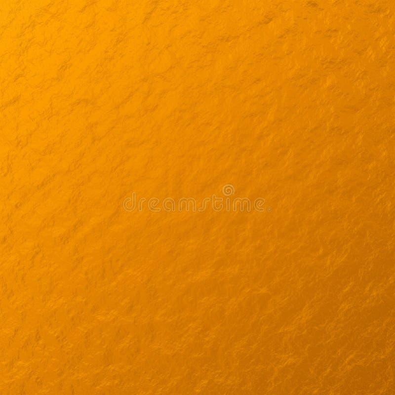 Złocistej bryłki tekstura Gęsta powierzchnia Z?ota foliowa tekstura Abstrakta papier obraz stock